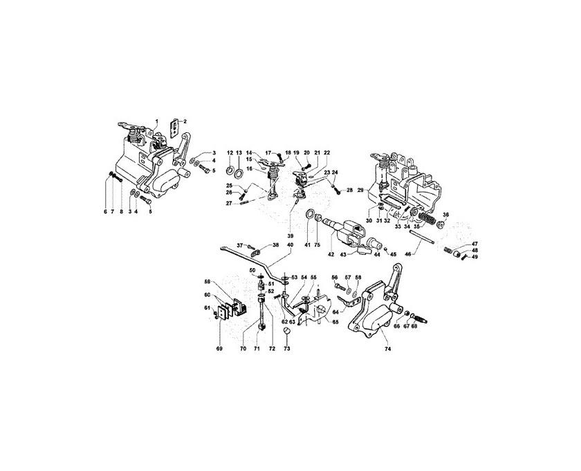 Cuffia di raffreddamento - Motorino avviamento - Tubo scarico