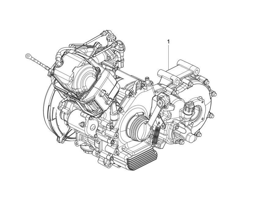 Fork-steering tube - Steering bearing unit