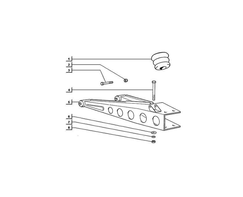 Réservoir d'huile de frein