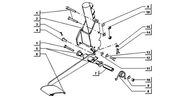 Cilindretto freno posteriore