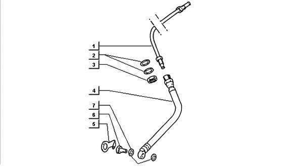 Triangolo sospensione posteriore